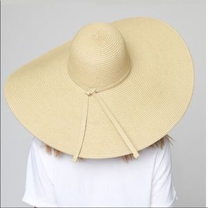 Accessories - ✨🌞New✨Natural Wide Brim Hat✨OS✨